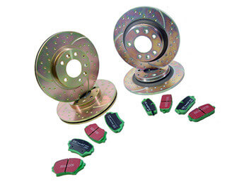 Discs & Pads Package, Sports, MX5 Mk3/3.5/3.75